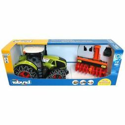 Bruder #03017 CLAAS Axion 950 with Snow Chains and Snow Blow