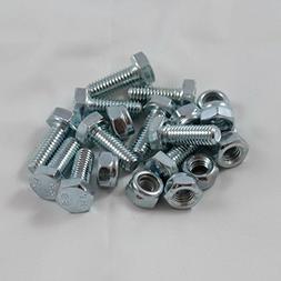 10 Sets - Auger Shear Pins Bolts & Nuts Honda HS1132 HS624 H