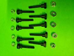 10 Shear Pins w/ Nuts for Honda Snow Blower/Thrower 90102-73