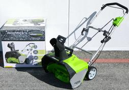 GreenWorks 13 Amp 20-Inch Corded-Electric Snow Thrower Remov