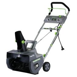 18 In. 13.5 Amp Corded Electric Snow Thrower
