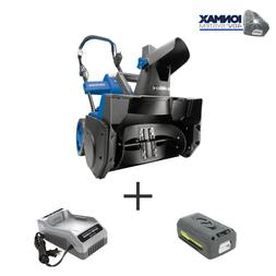 18 in 40 volt single stage cordless