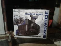 "Snow Joe 18"" Inch Electric Snow Thrower Blower Model SJ618E"