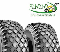 4.10-3.50-4;2 Ply Stud Tires Go-Kart,Snow Blower,Dolly,Air C