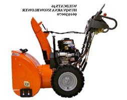HUSQVARNA 2 STAGE 924HV 208CC SNOW BLOWER WITH ELECTRIC STAR