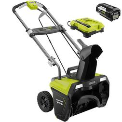 "Ryobi 20"" 40V Brushless Electric 5.0 Ah Battery & Charger RY"
