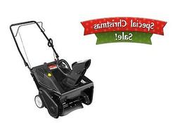 21 179cc single stage snow blower electric