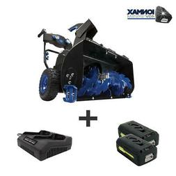 Snow Joe 24 in. 80-Volt 2-Stage Cordless Electric Snow Blowe