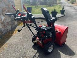 Craftsman 24 inch electric start Snowblower - EXCELLENT cond