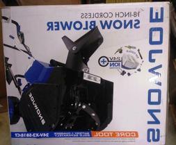Snow Joe 24V-X2-SB18-CT 18-Inch 48-Volt 4.0-Ah Cordless Snow