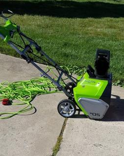GreenWorks 2600202 13amp Corded Snow Thrower