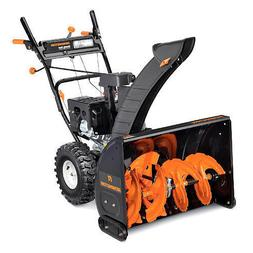 "Remington 28"" Width Two Stage Snow Blower Electric Start 6F/"