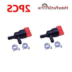 2PCS 90 Degree Fuel Gas Fuel Cut Off Shut Off Valve For Rota