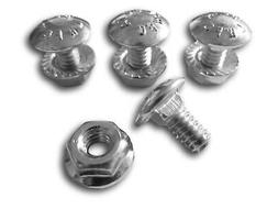 4 Pack Carriage Bolts Nuts for 731-1033 Shave Plate Scraper