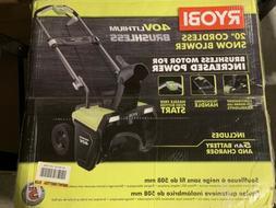 ryobi 40 volt snow blower