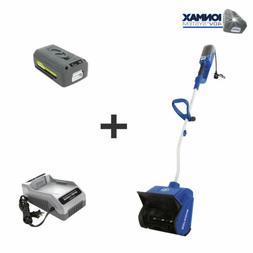 Snow Joe 40V 4.0 Ah Hybrid Cordless + Electric 13-Inch Cordl