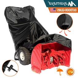 420D Snow Blower Thrower Cover Two Stage Waterproof Sun Prot
