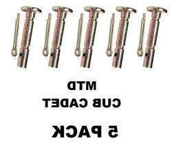 5 SHEAR & HAIR PINS MTD Cub Cadet Troy-Bilt  738-04124 738-0