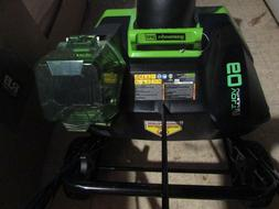 Greenworks 60-Volt 20-in Single-stage Cordless Electric Snow