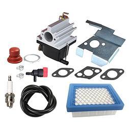 Panari 640020 Carburetor + Air Filter Tune Up Kit for Tecums