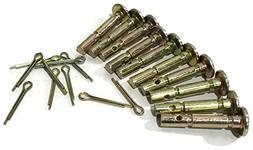Rotary 5549 Snowblower Shear Pins and Cotter Pins 10PK