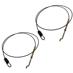 746-0897 Two  Auger Clutch Cables For MTD Built 2 Stage Snow