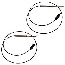 746-0898 2 Snowblower Drive Cables For MTD 946-0898 746-0898