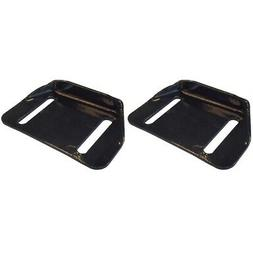 Set of 2 Snow Blower Thrower Slide Skid Shoes for 784-5580 C