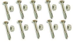 918 pk10 shear pins nuts