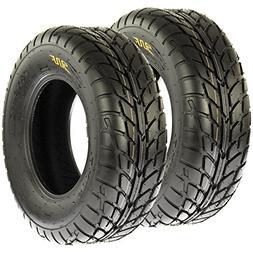 Pair of 2 SunF A021 TT Sport ATV UTV Dirt & Flat Track Tires