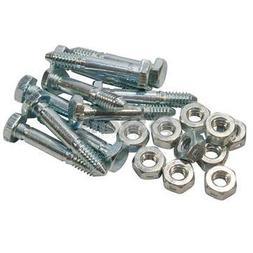 Stens 780-039 Metal Shear Pin Shop Pack, Fits Ariens: ST524,