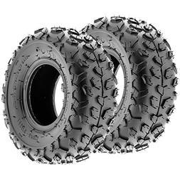SunF A014 XC-Sport ATV & Go Kart 145/70-6  Knobby Tires, 6 P
