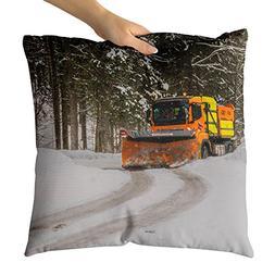 Westlake Art - Snow Motor - Decorative Throw Pillow Cushion