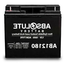 AB12180 12V 18AH SLA Battery Replacement for Bosch D8103 Pow