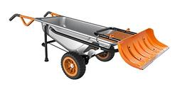WORX Aerocart Multifunction Wheelbarrow, Dolly and Cart with
