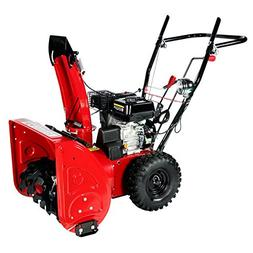 Amico AST24 196cc Two Stage Gasoline Engine Snow Blower/Thro