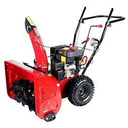 Amico AST26 212cc Two Stage Gasoline Engine Snow Blower/Thro