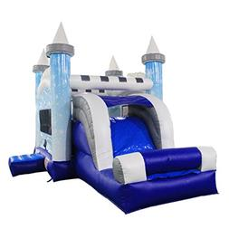 ALEKO BHC006 Commercial Grade Bounce House Snowflake Castle