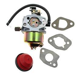 Aquiver Auto Parts Carburetor with Primer Bulb Fuel Filter f