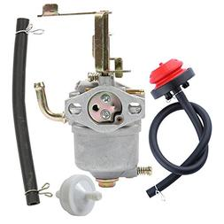 Panari 119-1570 Carburetor + Primer Bulb Fuel Filter for Tor