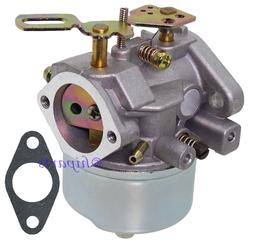 Carb Carburetor for Tecumseh Engine Snow Blower Craftsman To
