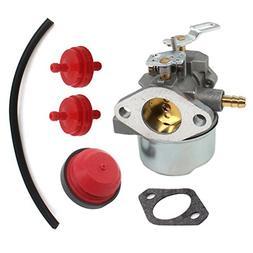 AISEN Carburetor Carb Fuel Line Filter Primer Bulb for Tecum