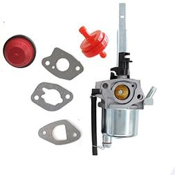 Carburetor Carb & Primer bulb & Fuel filter For Snow Blower