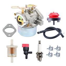 HIPA Carburetor Primer Bulb Spark Plug for Cub Cadet Snow Bl