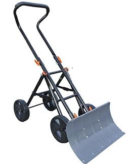 New Concept Snow Shovel - Heavy Duty Snow Pusher and Thrower