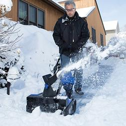 Snow Glo Cordless Electric Powered Snow Blower Machine With