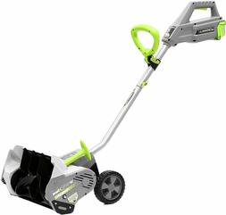 Earthwise Cordless Electric Snow Shovel Brushless Motor 16 I