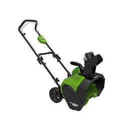 Greenworks 16-Inch 40V Cordless Snow Thrower, Battery and Ch