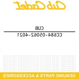 Cub Yellow 2 Lower Chute Cub Cadet 684-05062-4021 2x 3x Trac