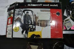 Deluxe Snow Thrower Cab with 3) removable pockets - Fits mos
